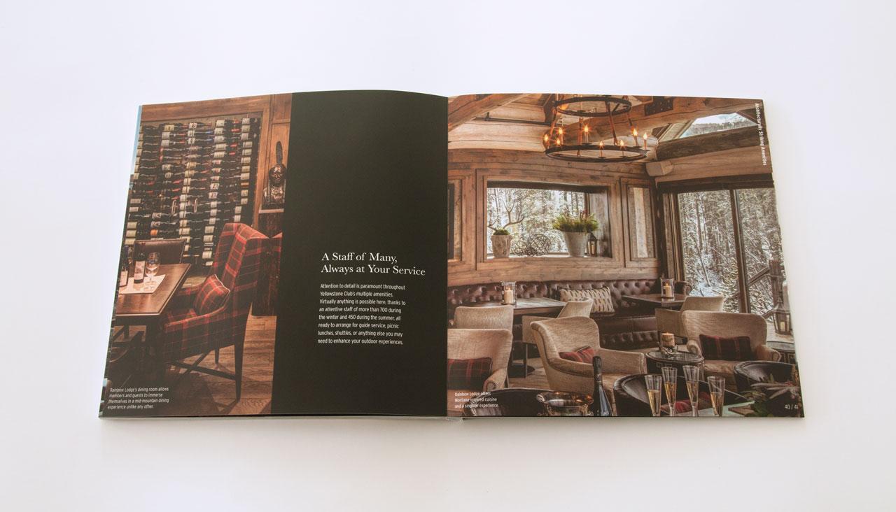 Yellowstone club designwajskol designwajskol for Design strategy firms nyc